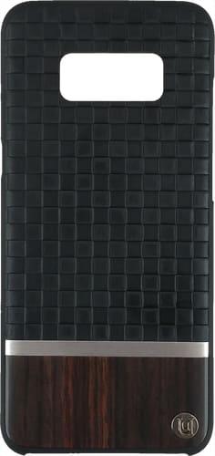 uUnique Galaxy S8 plus Back Cover black/Wood