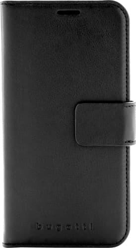 bugatti iPhone Xs Max Book Case Leather black