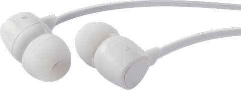 itStyle in ear Stereo Headset universal white