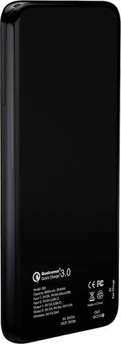 Andi Be Free Wireless Fast Charging Powerbank Black 8000mAh