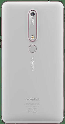 Nokia 6.1 White / Iron