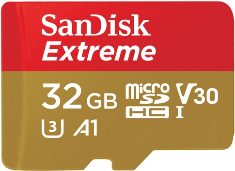 SanDisk Extreme microSDHC 32 GB 100MB/s Andr