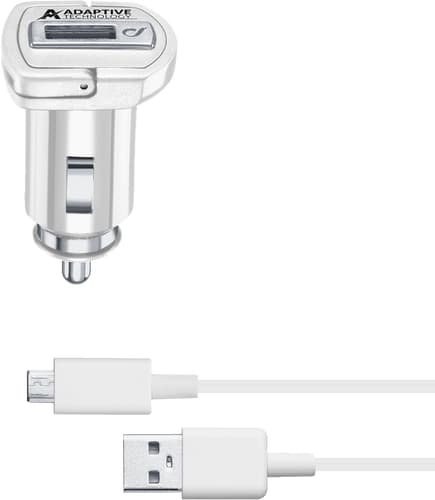 cellularline Charger 12V USB fast fix cable white
