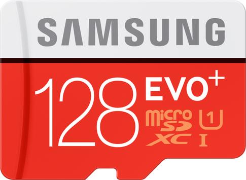 Samsung micro SDXC Evo+ 128GB Smart Switch Promo