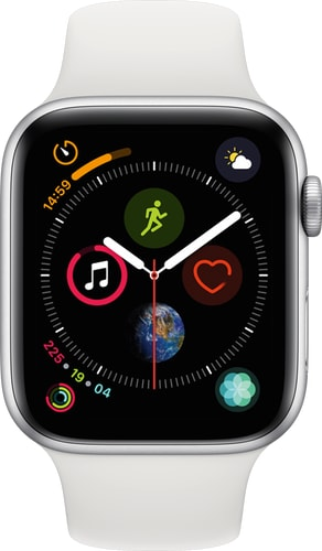 Apple Watch Series 4 GPS+Cell 44mm SilverWhiteSpor