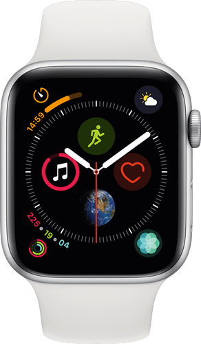 Apple Watch Series 4 GPS+Cell 44mm SilverWhiteSpor