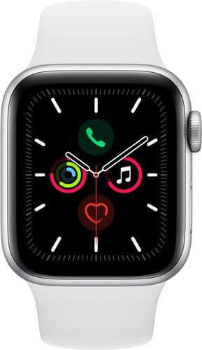 Apple Watch Series 5 GPS 40mm Silver Alu White Sport Band