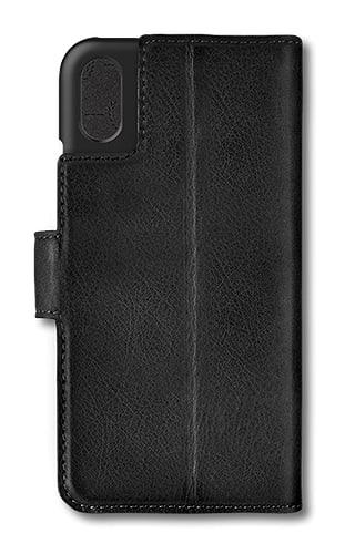 bugatti iPhone X/Xs Book Case Leather black