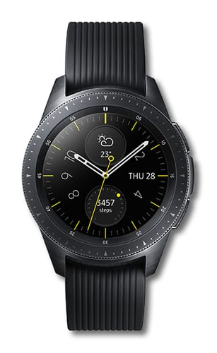 Samsung GalaxyWatch SM-R815 42mm black BT + LTE