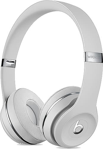 Beats Solo3 On-Ear Headset Wireless Satin Silver