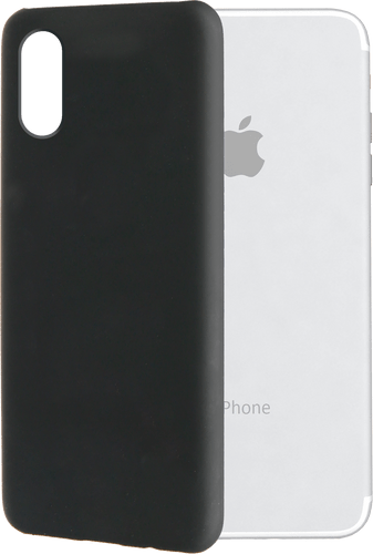 itStyle iPhone X Backcover Rubberstyle black