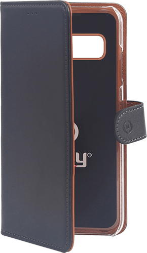 Celly Galaxy S10 Plus Book Stand Case black