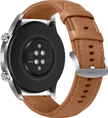 Huawei Watch GT 2 Classic Brown Leather