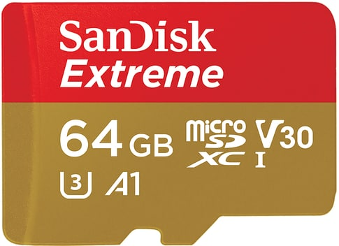 SanDisk Extreme microSDHC 64 GB 100MB/s Andr