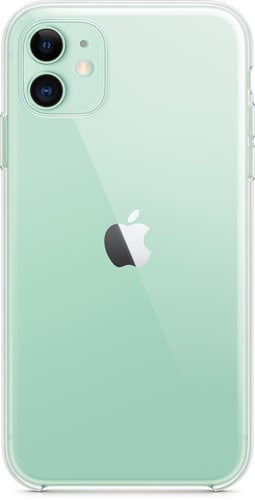 Apple iPhone 11 Silicon Backcover transparent