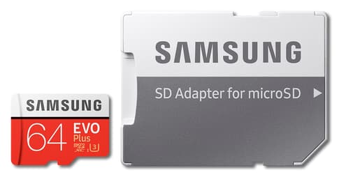 Samsung Evo Plus (2017) microSDXC Card 64GB