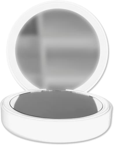 Pocket Mirror Power Bank 4000 mAh white