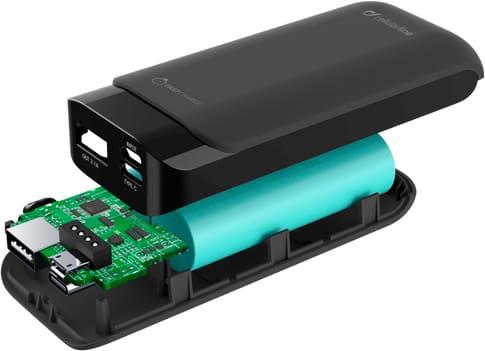 cellularline Power Bank USBC 5200 mAh fast charge black