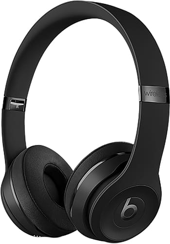 Beats Solo 3 On-Ear Headset Wireless Jet Black