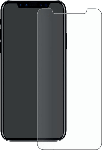 Eiger iPhone Xs Max screenprotector Glas flach