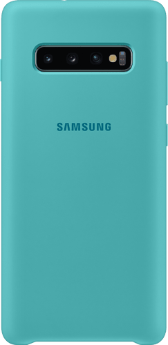 Samsung Galaxy S10 Plus Silicon Backcover green