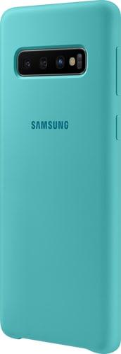 Samsung Galaxy S10 Silicon Backcover green