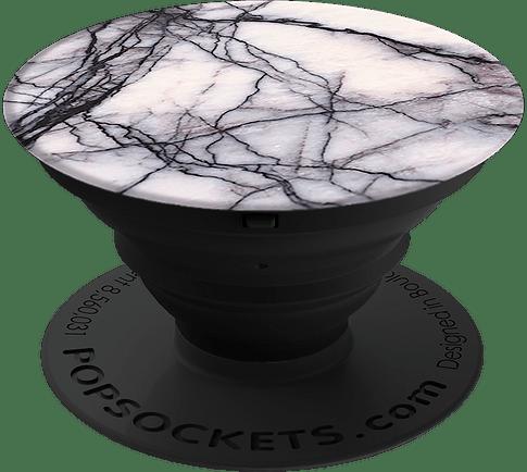 PopSocket Back-Holder Marble white
