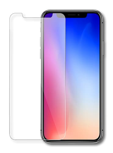 Eiger iPhone X screenprotector Glas flach