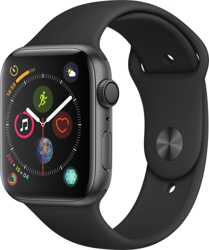 Apple Watch Series 4 GPS 44mm SpaceGrey BlackSport
