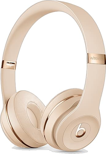 Beats Solo3 On-Ear Headset Wireless Satin Gold