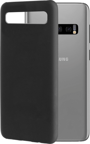itStyle Galaxy S10 Plus Backcover Rubberstyle black