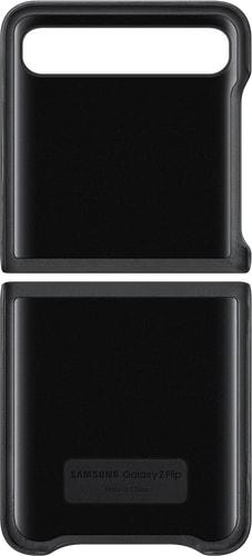 Samsung Galaxy Z Flip Backcover Leather black