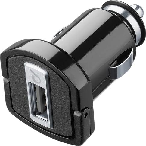 cellularline Charger 12V USB fast without cab black