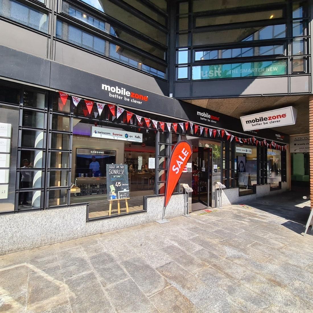 mobilezone shop Lugano Palazzo