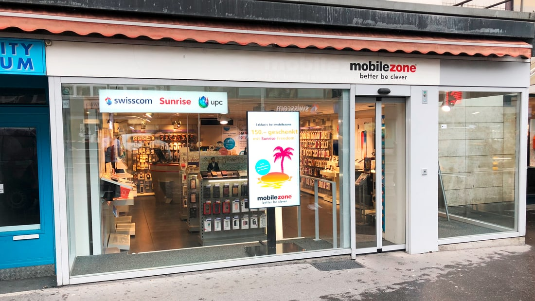 mobilezone Shop Aarau