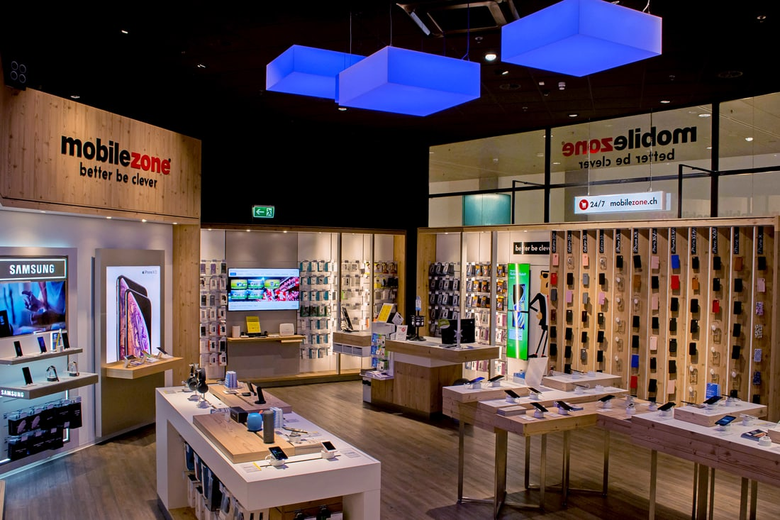 mobilezone Shop Oftringen Perry Center