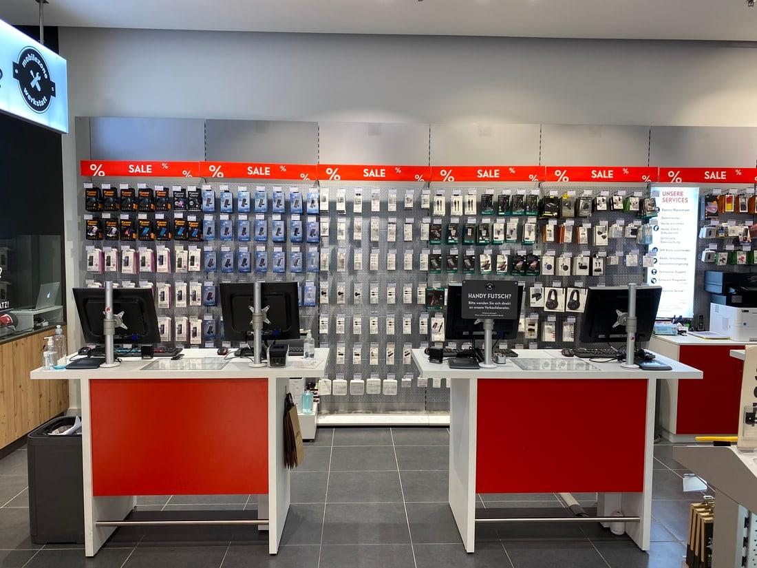 mobilezone shop St. Gallen Arena