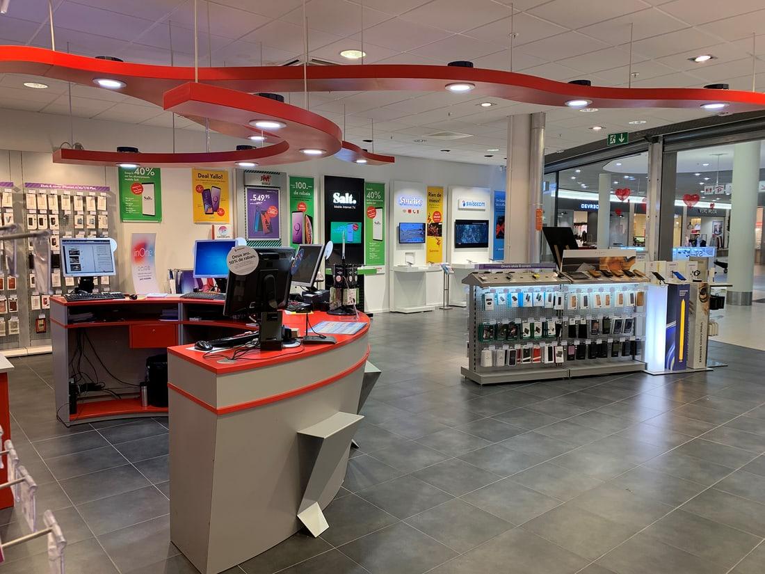 mobilezone Shop Neuchatel