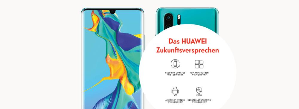 Huawei P30 Pro mit Swisscom inOne mobile go