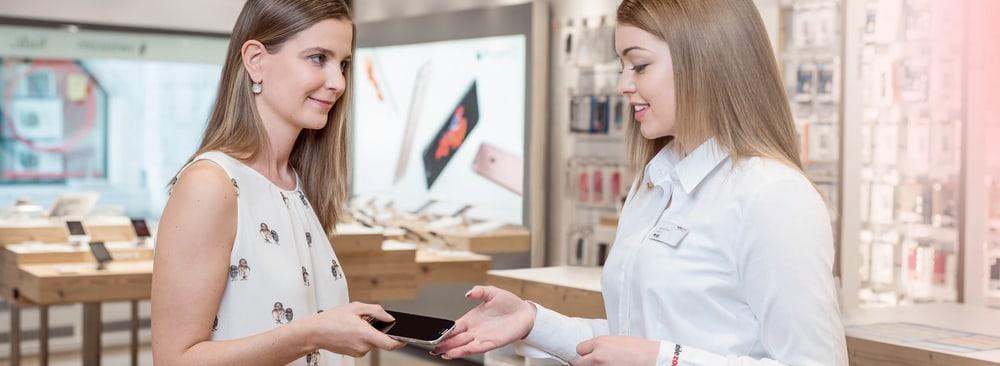 Eintauschprogramm bei mobilezone
