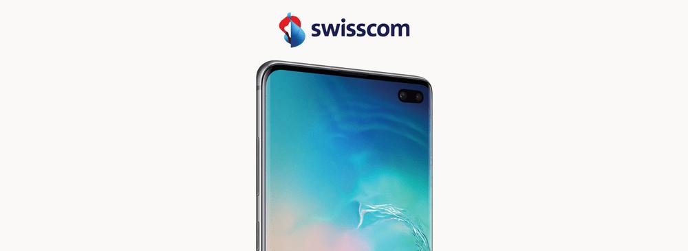 Samsung Galaxy S10+ avec Swisscom inOne mobile go