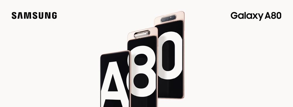 Le nouveau Samsung Galaxy A80