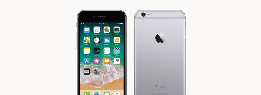 iPhone 6S mit Swisscom inOne mobile go